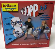 Nip Whopp Air Giant Inflatable Boxing Gloves By Air Games Gray Blue Air Games