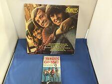 THE MONKEES LP 33 VINYL RECORD ALBUM W/ THE MONKEES GO MAD BOOK COM-101