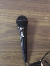 "Philips PH62080 Wired Microphone 600ohm 1/4"" Jack Music Singing Karaoke etc"
