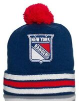 Mitchell & Ness New York Rangers Cuffed Pom Knit Multi Team Clrs Discontinued!