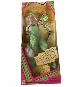 1996 EXTREME GREEN Teen Skipper Barbie Doll #19666  NEW NRFB