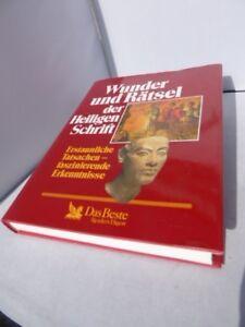 Wunder und Rätsel der Heiligen Schrift, Verlag das Beste, 384 Seiten,neuwertig !