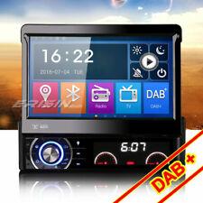 "7"" 1 Din Desmontable DAB+ Autorradio GPS Bluetooth TDT DVR SD DVD USB Navegación"