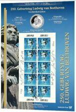 20 Euro Gedenkmünze Numisblatt Ludwig van Beethoven DEUTSCHLAND 02.01.2020 OVP