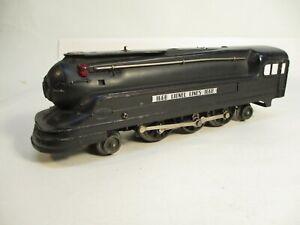 O Gauge Lionel 1668 Torpedo Loco Black Prewar X7545
