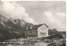 160707 BERGAMO BRANZI - RIFUGIO LAGHI GEMELLI Cartolina FOTOGRAFICA viagg. 1955
