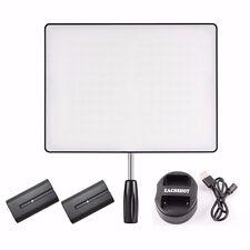 YONGNUO YN600 Air CRI 95+ LED Camera Video Light + 2* NP-F550 Battery + Charger