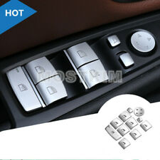 Inner Door Window Switch Button Cover For BMW X1 X3 X4 X5 X6 E70 E71 F25 F15 F16
