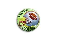 Football américain - I love football 1 - Badge 25mm Button Pin