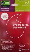 MD Vodafone D2 Callya Karte Prepaid Karte Smartphone Special 15€ Guthaben + LTE