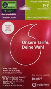 Vodafone Callya Smartphone International Sim für Türkei & EU inkl. Freimonat MD