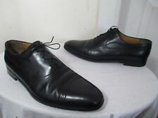 fb8f600c0757 AUTHENTIC CHRISTIAN DIOR MEN BLACK LEATHER CAP TOE DRESS SHOES 11½ MADE IN  ITALY