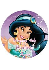 Edible Cake PRECUT Topper Princess JASMINE - Highest Australian Quality