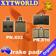FRONT REAR Brake Pads BENELLI 666 Scooter Born in Hell 125cc 1998 1999