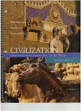 Civilization in the West Volume 2 Custom Edition for Nassau Community College