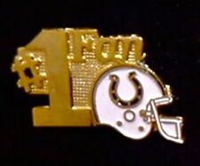 Indianapolis Colts Pin ~ #1 Fan ~ NFL ~ 80's vintage ~ Football