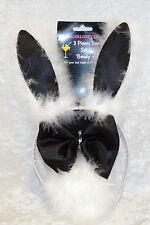 Halloween Costume Bunny Ears Eails Bow Tie 3 Piece Bunny Set
