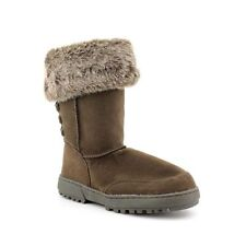 Rampage Astrid Womens Size 6 Brown Faux Suede Fashion Mid-Calf Boots
