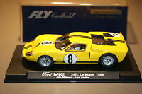 Slot car SCX Scalextric Fly 88085 A761 Ford MKII 24H Le Mans 1966