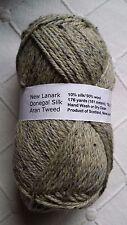 New Lanark Donegal Silk Wool Aran Tweed Yarn