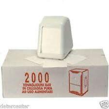 Pezzi 6000 Tovaglioli 17x17 (2000x3) Tovaglioli dispenser da Bar