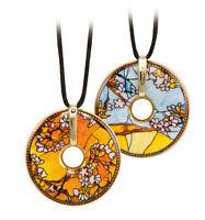Goebel Kette Sittiche Amulett mit echtem Swarovski® Kristall 66999171