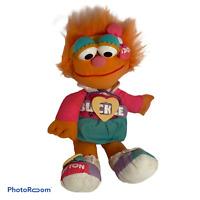 💕 Vintage Tyco Dress Me Up ZOE DOLL 1995 Sesame Street Learning Teaching Plush