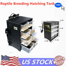 Professional Reptile Breeding Tank For Insect Spider Turtle Cage Pet Feeding Box