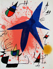 Joan Miro Lithographe Volume I - Original Mourlot Lithograph I M.857 - 1972