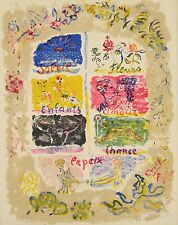 """Constantin Terechkovitch """"Original Lithograph"""" Signed and number"""
