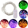 10-100LED USB Fairy Lights Copper Wire String Lights Xmas Party Decor Lamps Nice