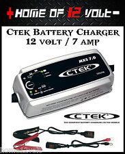CTEK MXS 7 Amp Battery Charger to suit AGM CALCUIM WET CELL DEEP CYCLE GEL