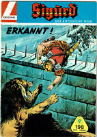 SIGURD Nr. 198 - Erkannt ! - Org. Walter Lehning Verlag (1958-1968)