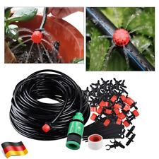 25M Bewässerungssystem DIY Micro Bewässerung Tropfschlauch Drippers NEU DHL
