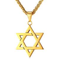Étoile De David Magen Judaica Bague Argent Kabbale Juif Israël Merkaba 3 D