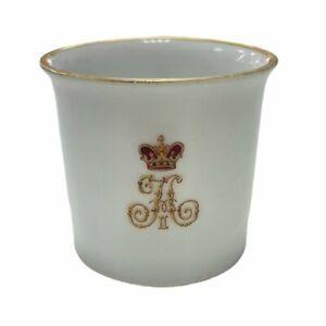 Antique Russia  Russian imperial Tsar Emperor Nicholas II Porcelain Cup  1905