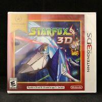Star Fox 64 3D (Nintendo 3DS) Nintendo Selects / BRAND NEW