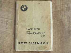 Original Handbuch BMW R35 350 CCM BMW kraftrad BMW EISENACH 021 84490 JULI 1947