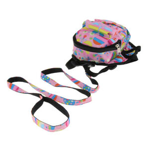 Pet Dog Backpack Harness Travel Outdoor Hiking With Adjustable Leash