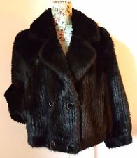 Faux Fur Plus Size Vintage Coats & Jackets for Women
