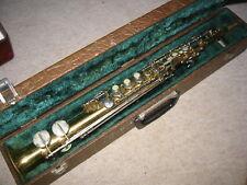"Vintage Italian soprano saxophone ""Borgani"""