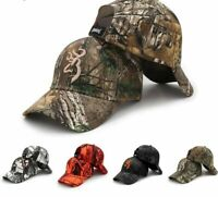 Newest Browning Camo Baseball Cap Fishing Caps Men Outdoor Hunting Camouflage