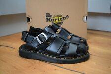 Dr MARTENS KASSION Black Brando Slip On Strap Sandals UK 9 EU 43 US 10