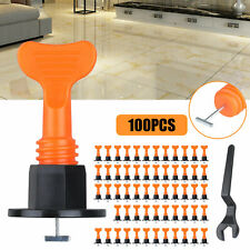 100Reusable Tile Leveling System Anti-Lippage Positioning T-Lock Locator Spacers