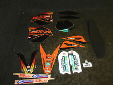 KTM SX50 2009-2012 N-STYLE Factory Team graphics + seat cover kit GR1044