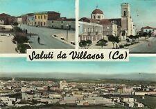 Z14050-SALUTI DA VILLASOR, CAGLIARI, PROVA DI CARTOLINA