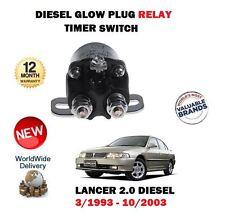 PER MITSUBISHI LANCER 2.0D Diesel 1993-2003 NUOVO CANDELA Timer Relé