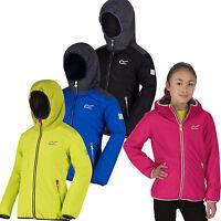 Regatta Volcanics Kids Jacket Fleece Lined Waterproof Girls Boys Coat