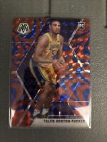 Talen Horton-Tucker 2019-20 Mosaic BLUE REACTIVE Mosaic Prizm RC Rookie Lakers