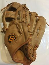 Vintage Wilson Baseball Glove Leather A2600 Grip-Tite Pocket Field Master